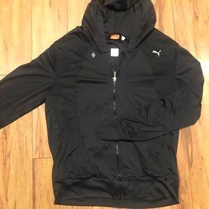 Full zip Puma hooded jacket